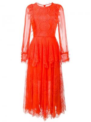 Платье Marshala Maria Lucia Hohan. Цвет: жёлтый и оранжевый