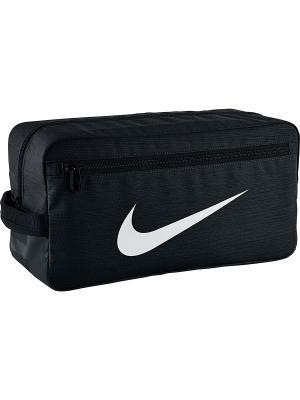 Мешок для обуви NK BRSLA SHOE Nike. Цвет: черный, белый