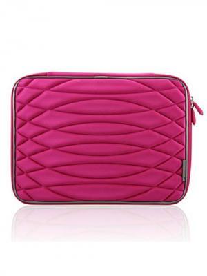 Чехол для MacBook 15.4 Бриллиант (цвет - красно-розовый) Kawaii Factory. Цвет: малиновый