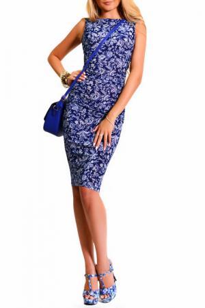 Платье LASKANY collezioni. Цвет: синий