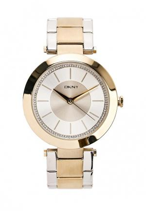 Часы DKNY. Цвет: золотой
