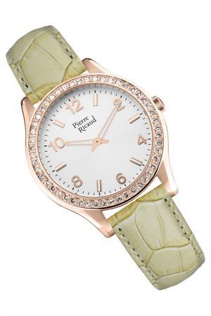 Наручные часы PIERRE RICAUD. Цвет: розовый, бежевый
