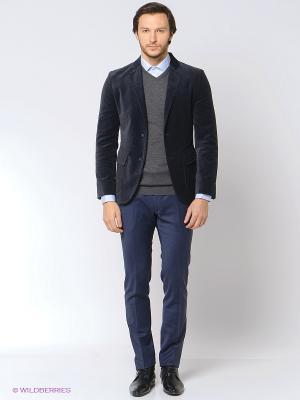 Пиджак ABSOLUTEX. Цвет: темно-синий