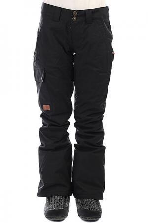 Штаны сноубордические женские DC Recruit Black Shoes. Цвет: черный