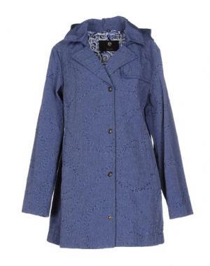 Легкое пальто [C] STUDIO. Цвет: синий
