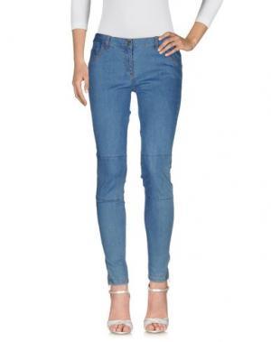 Джинсовые брюки SOEUR. Цвет: синий