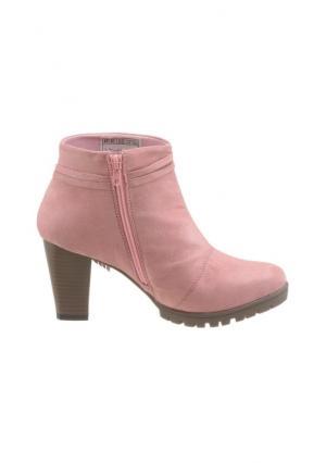 Ботильоны CITY WALK. Цвет: розовый, серо-коричневый, серый