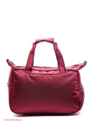 Спортивная сумка UNION. Цвет: бордовый