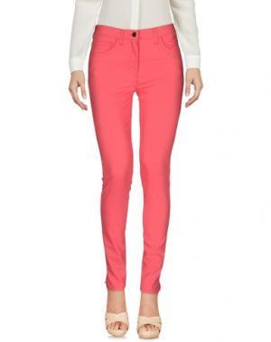 Повседневные брюки ROBERTA PUCCINI by BARONI. Цвет: коралловый