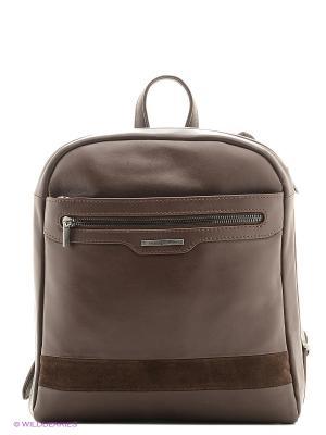 Рюкзак Sergio Belotti. Цвет: коричневый
