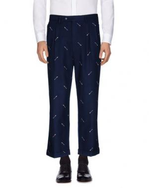Повседневные брюки LC23. Цвет: темно-синий