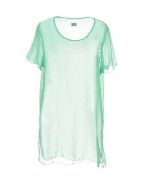 Блузка F**K PROJECT. Цвет: светло-зеленый