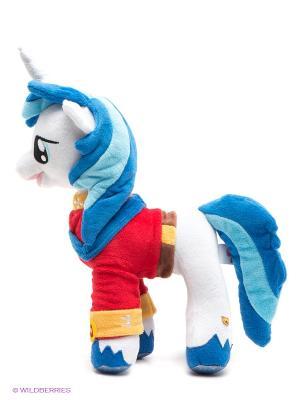 My little pony, Принц Армор. Мягкая игрушка Мульти-пульти. Цвет: белый, синий, красный
