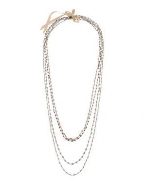 Ожерелье NUR. Цвет: серый