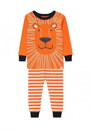 Пижама Gap. Цвет: оранжевый