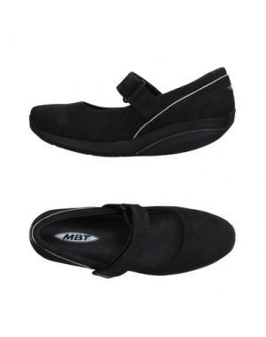 Туфли MBT. Цвет: черный