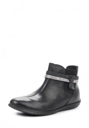 Ботинки ALICIA ECCO. Цвет: серый