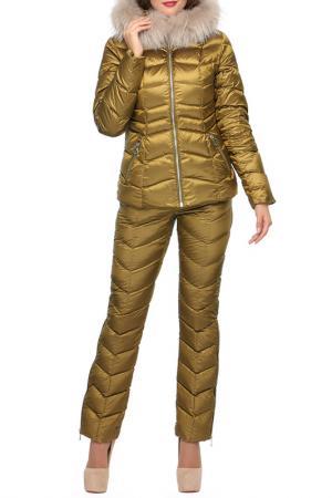 Комплект: куртка, брюки Conso. Цвет: горчичный