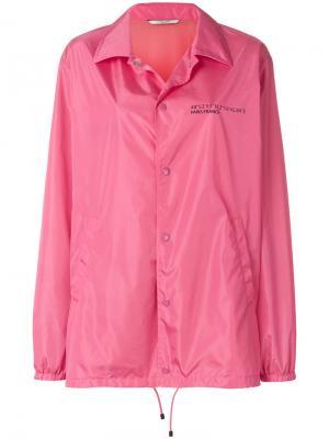 Куртка Coordinates Valentino. Цвет: розовый и фиолетовый