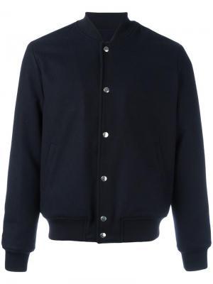 Куртка-бомбер Marcus Harmony Paris. Цвет: синий