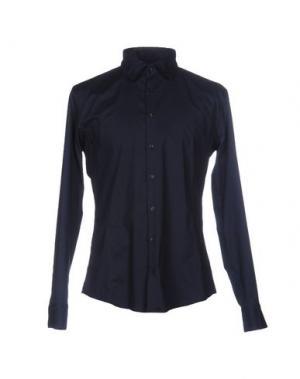 Pубашка SORBINO. Цвет: темно-синий