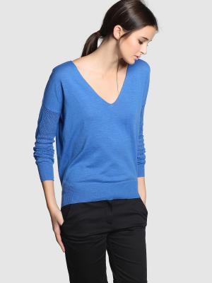 Пуловер FORMULA JOVEN. Цвет: голубой