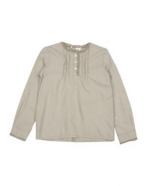 Блузка LE PETIT COCO. Цвет: песочный