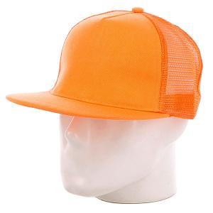 Бейсболка с сеткой True Spin 5 Panel Trucker Neon/Orange TrueSpin. Цвет: оранжевый