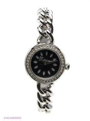 Часы наручные Galliano. Цвет: серебристый