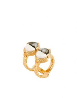 Кольцо ISHARYA. Цвет: белый