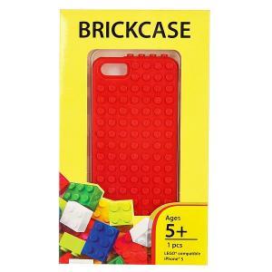 Чехол для iPhone 5  BrickPhone5 Red Smallworks. Цвет: красный