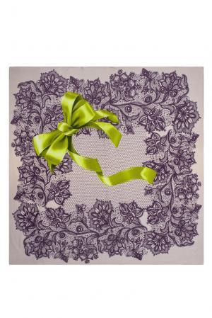 Платок из шерсти 183421 Moltini. Цвет: разноцветный