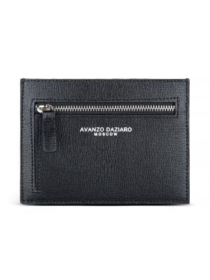 Чехол для кредитных карт Avanzo Daziaro. Цвет: черный