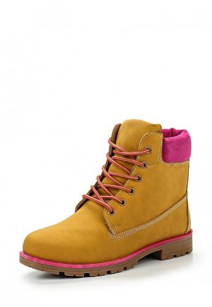 Ботинки Leerd. Цвет: коричневый