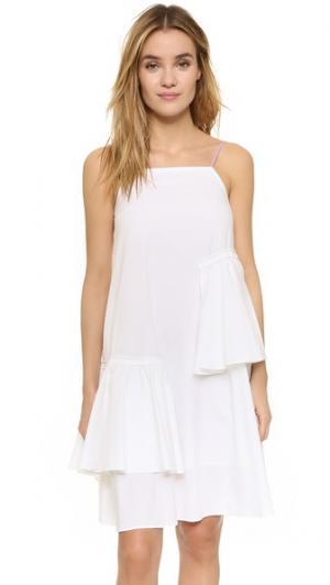 Платье Lea ONE by D.efect. Цвет: белый