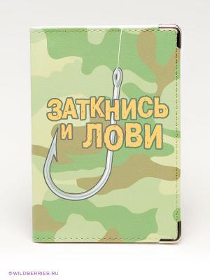 Обложка для паспорта Экспедиция. Цвет: хаки