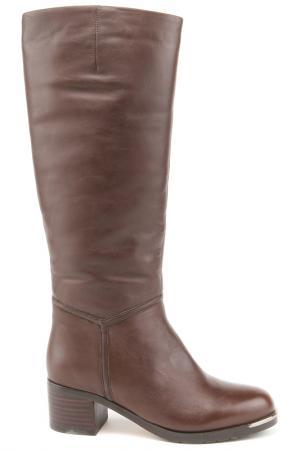 Сапоги LEFOLLIE. Цвет: коричневый