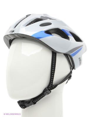 Шлем BBB. Цвет: белый, синий