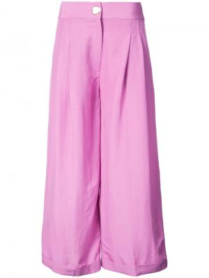 Брюки Dylan Rejina Pyo. Цвет: розовый и фиолетовый