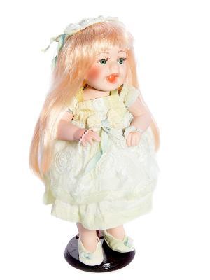 Кукла коллекционная Галина Русские подарки. Цвет: белый, черный, бежевый