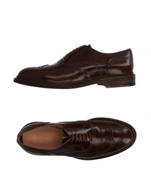 Обувь на шнурках REGAIN. Цвет: коричневый