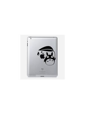 Наклейка для iPad 2/3/4 My Totoro Kawaii Factory. Цвет: черный