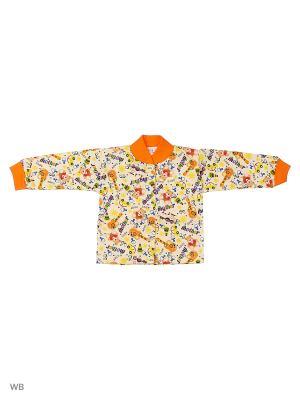 Кофточка Babycollection. Цвет: желтый, молочный, оранжевый