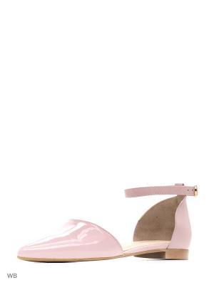 Балетки GIOTTO. Цвет: розовый