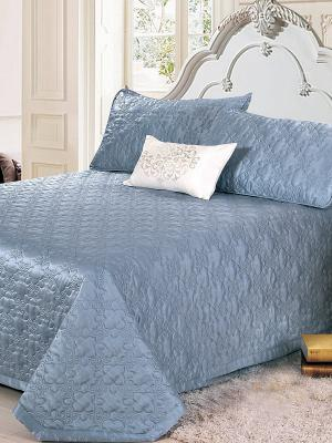 Покрывало, Rialto (blue platinum), 230x250см. KAZANOV.A.. Цвет: голубой