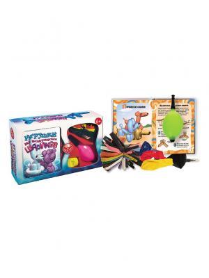 Игрушки из воздушных шариков Fun kits. Цвет: голубой
