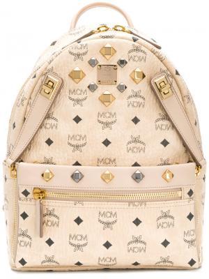 Маленький рюкзак Dual Stark MCM. Цвет: телесный