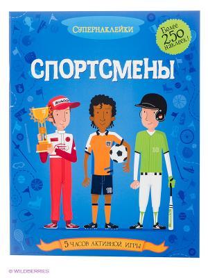 Спортсмены Издательство Махаон. Цвет: белый