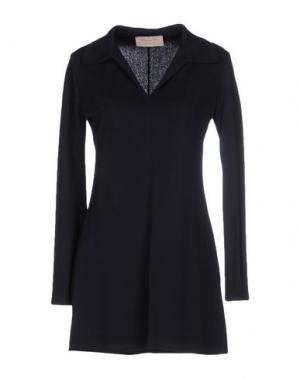 Короткое платье KAOS JEANS. Цвет: темно-синий