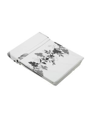 Комплект постельного белья 3 предмета HAMRAN. Цвет: белый, серый, черный